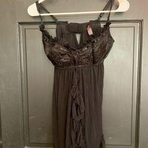 Dreamgirl black lace lingerie teddy 1X2X